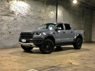 2019 Ford Ranger PX MkIII 2019.00MY Raptor Grey 10 Speed Sports Automatic Double Cab Pick Up.