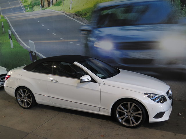 Used Mercedes-Benz E250 207 MY14 Osborne Park, 2014 Mercedes-Benz E250 207 MY14 White 7 Speed Automatic Cabriolet