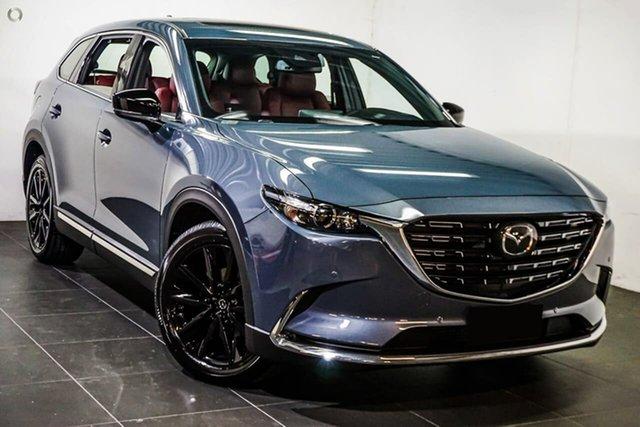 New Mazda CX-9 TC GT SP SKYACTIV-Drive Waitara, 2021 Mazda CX-9 TC GT SP SKYACTIV-Drive Grey 6 Speed Sports Automatic Wagon