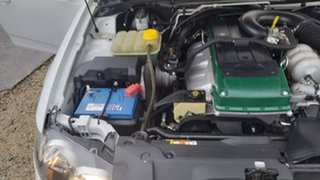 2008 Ford Falcon FG Ute Super Cab White 4 Speed Automatic Utility