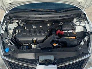 2006 Nissan Tiida C11 ST White 4 Speed Automatic Hatchback