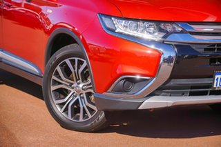 2018 Mitsubishi Outlander ZL MY18.5 LS 2WD Red 6 Speed Constant Variable Wagon.