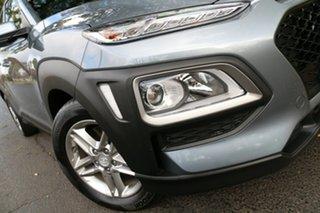 2020 Hyundai Kona OS.3 MY20 Active D-CT AWD Silver 7 Speed Sports Automatic Dual Clutch Wagon.