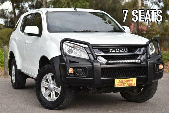 Used Isuzu MU-X MY15 LS-M Rev-Tronic 4x2 Melrose Park, 2015 Isuzu MU-X MY15 LS-M Rev-Tronic 4x2 White 5 Speed Sports Automatic Wagon