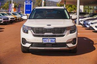 2021 Kia Seltos SP2 Sport+ White Constant Variable SUV.