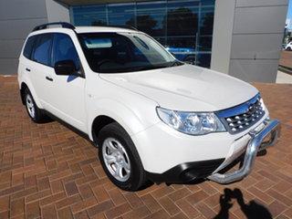 2011 Subaru Forester S3 MY11 X AWD White 4 Speed Sports Automatic Wagon.