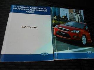 2011 Ford Focus LV Mk II CL White 4 Speed Sports Automatic Sedan