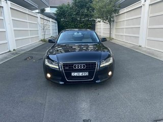 2010 Audi A5 8T MY10 Quattro Black 6 Speed Sports Automatic Coupe.