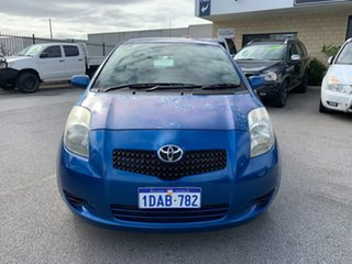 2008 Toyota Yaris NCP91R YRS Blue 4 Speed Automatic Hatchback.