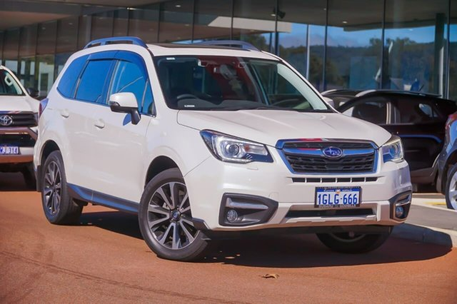 Used Subaru Forester S4 MY17 2.5i-S CVT AWD Gosnells, 2017 Subaru Forester S4 MY17 2.5i-S CVT AWD White 6 Speed Constant Variable Wagon