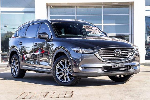 Used Mazda CX-8 KG4W2A Asaki SKYACTIV-Drive i-ACTIV AWD Liverpool, 2019 Mazda CX-8 KG4W2A Asaki SKYACTIV-Drive i-ACTIV AWD Machine Grey 6 Speed Sports Automatic Wagon