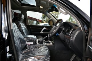 2021 Toyota Landcruiser VDJ200R Sahara Eclipse Black 6 Speed Sports Automatic Wagon.