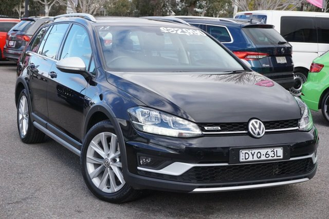 Used Volkswagen Golf 7.5 MY18 Alltrack DSG 4MOTION 132TSI Phillip, 2018 Volkswagen Golf 7.5 MY18 Alltrack DSG 4MOTION 132TSI Black 6 Speed Sports Automatic Dual Clutch