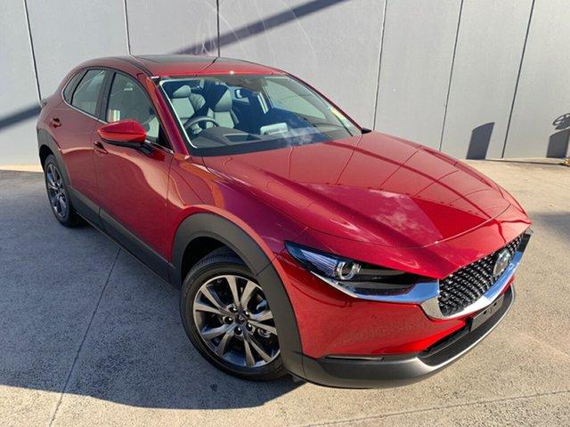 New Mazda CX-30 DM4WLA G25 SKYACTIV-Drive i-ACTIV AWD Astina Alexandria, 2021 Mazda CX-30 DM4WLA G25 SKYACTIV-Drive i-ACTIV AWD Astina Soul Red Crystal 6 Speed