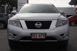 2016 Nissan Pathfinder R52 Series II MY17 ST X-tronic 2WD Silver 1 Speed Constant Variable Wagon.