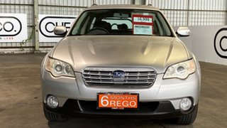 2007 Subaru Outback B4A MY08 AWD Silver 4 Speed Sports Automatic Wagon