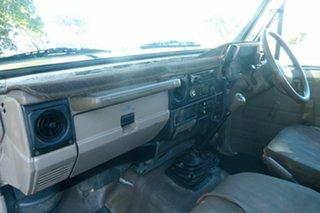 1997 Toyota Landcruiser HZJ75RP White 5 Speed Manual Cab Chassis