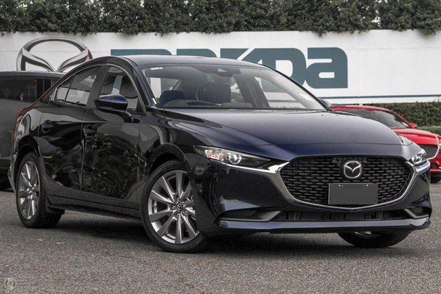 New Mazda 3 BP2S7A G20 SKYACTIV-Drive Evolve Waitara, 2021 Mazda 3 BP2S7A G20 SKYACTIV-Drive Evolve Blue 6 Speed Sports Automatic Sedan