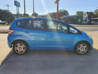 2010 Honda Jazz GE MY10 GLi Blue Green 5 Speed Automatic Hatchback