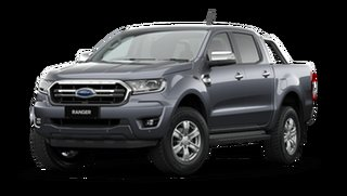 2020 Ford Ranger PX MkIII 2021.25MY XLT Meteor Grey 6 Speed Sports Automatic Double Cab Pick Up
