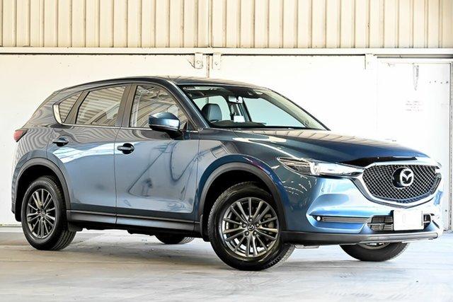 Used Mazda CX-5 KF4W2A Touring SKYACTIV-Drive i-ACTIV AWD Laverton North, 2018 Mazda CX-5 KF4W2A Touring SKYACTIV-Drive i-ACTIV AWD Blue 6 Speed Sports Automatic Wagon