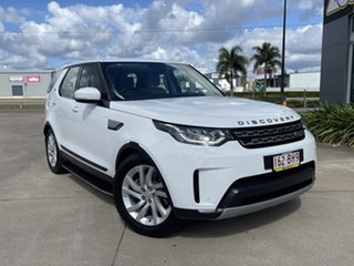 2017 Land Rover Discovery Series 5 L462 MY17 HSE White/240717 8 Speed Sports Automatic Wagon.