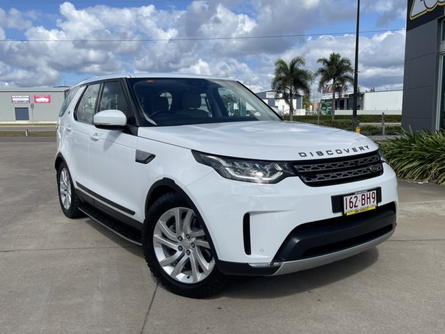 Used Land Rover Discovery Series 5 L462 MY17 HSE Townsville, 2017 Land Rover Discovery Series 5 L462 MY17 HSE White/240717 8 Speed Sports Automatic Wagon