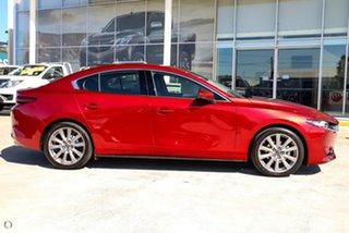 2021 Mazda 3 BP2SLA G25 SKYACTIV-Drive GT Red 6 Speed Sports Automatic Sedan