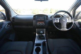 2012 Nissan Navara D40 S6 MY12 ST 4x2 White 6 Speed Manual Utility