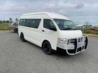 2011 Toyota HiAce KDH223R MY11 Upgrade Commuter 4 Speed Automatic Bus.