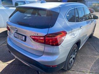 2016 BMW X1 F48 xDrive20d Steptronic AWD Glacier Silver 8 Speed Sports Automatic Wagon.