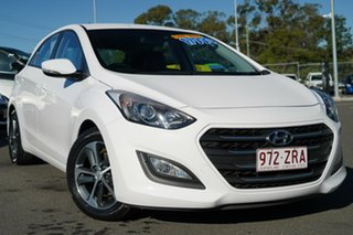 2015 Hyundai i30 GD3 Series II MY16 Active X DCT White 7 Speed Sports Automatic Dual Clutch.