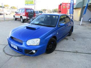 2004 Subaru Impreza S WRX (AWD) Blue 4 Speed Manual Sedan.