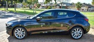 2015 Mazda 3 BM5438 SP25 SKYACTIV-Drive Black 6 Speed Sports Automatic Hatchback
