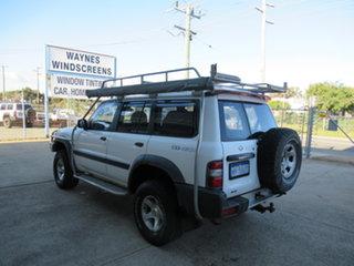 1998 Nissan Patrol GU ST White 4 Speed Automatic Sportswagon.