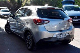 2018 Mazda 2 DJ2HAA Genki SKYACTIV-Drive Silver 6 Speed Sports Automatic Hatchback.