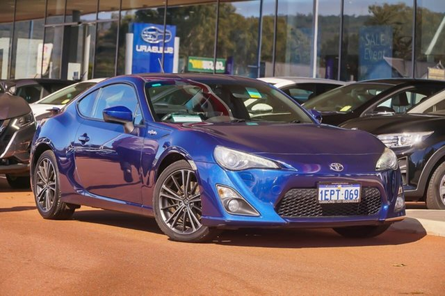 Used Toyota 86 ZN6 GTS Gosnells, 2013 Toyota 86 ZN6 GTS Blue 6 Speed Sports Automatic Coupe