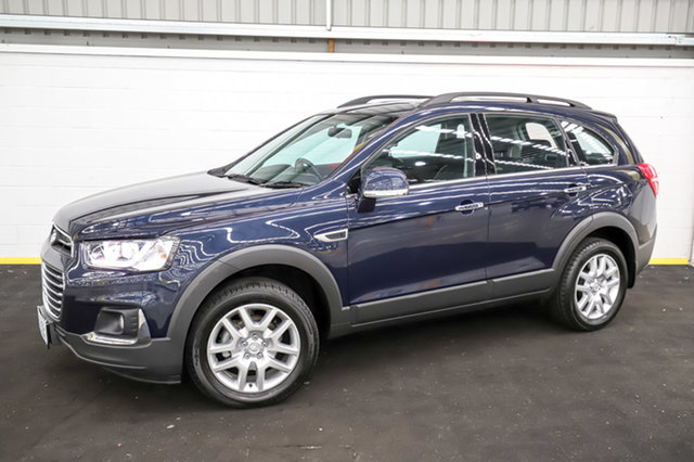 Used Holden Captiva CG MY17 Active 2WD Canning Vale, 2017 Holden Captiva CG MY17 Active 2WD Blue 6 Speed Sports Automatic Wagon