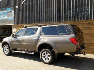 2013 Mitsubishi Triton MN MY13 GLX-R Double Cab Brown 5 Speed Sports Automatic Utility