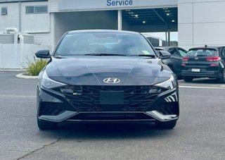2021 Hyundai i30 CN7.V1 MY21 N Line Phantom Black 7 Speed Auto Dual Clutch Sedan.