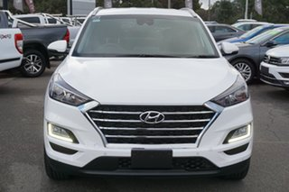 2019 Hyundai Tucson TL3 MY19 Elite 2WD Pure White 6 Speed Automatic Wagon.