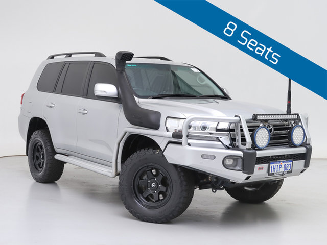 Used Toyota Landcruiser VDJ200R LC200 GXL (4x4), 2019 Toyota Landcruiser VDJ200R LC200 GXL (4x4) Silver 6 Speed Automatic Wagon