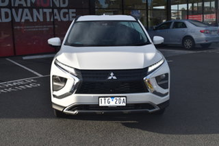2021 Mitsubishi Eclipse Cross YB MY21 LS 2WD White 8 Speed Constant Variable Wagon.
