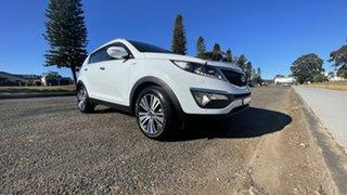 2014 Kia Sportage SL Series II MY13 Platinum Casa White 6 Speed Sports Automatic Wagon