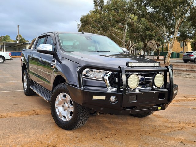 Used Ford Ranger PX MkII XLT Double Cab St Marys, 2016 Ford Ranger PX MkII XLT Double Cab Grey 6 Speed Sports Automatic Utility