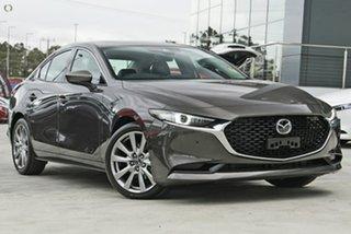 2021 Mazda 3 BP2SLA G25 SKYACTIV-Drive Astina Grey 6 Speed Sports Automatic Sedan.