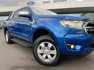 2018 Ford Ranger PX MkIII 2019.00MY XLT Blue 6 Speed Sports Automatic Utility.