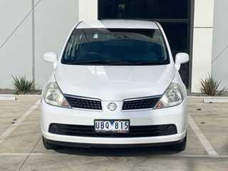 2006 Nissan Tiida C11 ST White 4 Speed Automatic Hatchback.