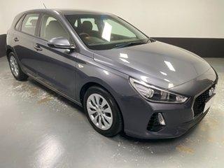 2017 Hyundai i30 PD MY18 Go Iron Gray 6 Speed Sports Automatic Hatchback.
