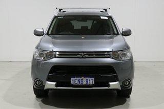 2014 Mitsubishi Outlander ZJ MY14 PHEV Grey 1 Speed Automatic Wagon.